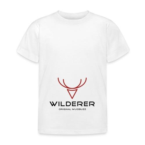 WUIDBUZZ | Wilderer | Männersache - Kinder T-Shirt