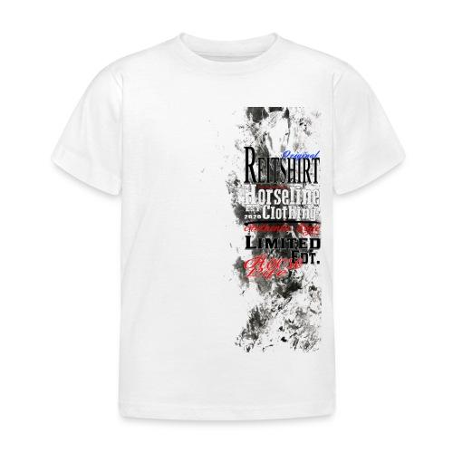Limited Edition Reit Shirt Pferde Reiten - Kinder T-Shirt