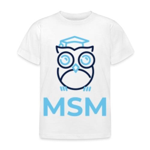 MSM UGLE - Børne-T-shirt