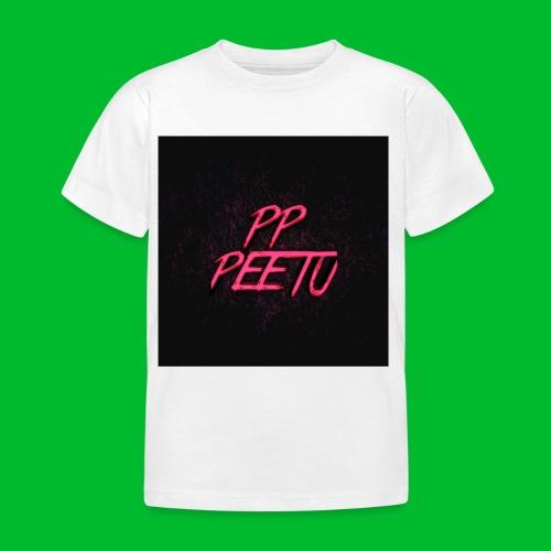 Ppppeetu logo - Lasten t-paita