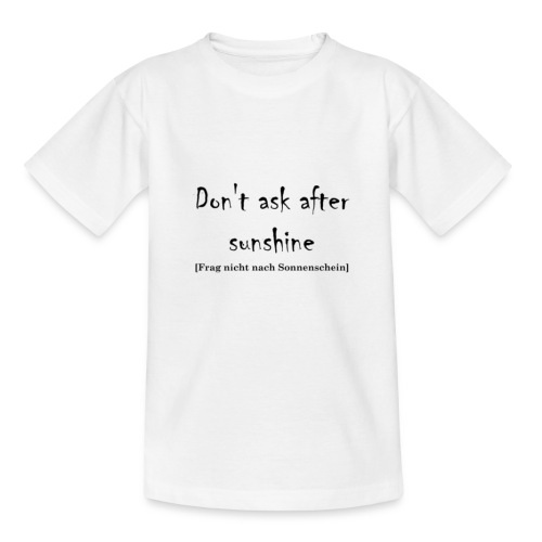 sunshine - Kinder T-Shirt