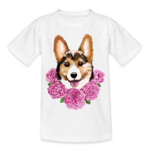 Corgi - Børne-T-shirt