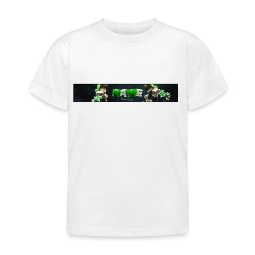 Temblate T-shirt Stellt euch euren Namen vor :D - Kinder T-Shirt