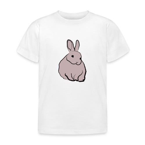 Piirros pupu - väri - Lasten t-paita