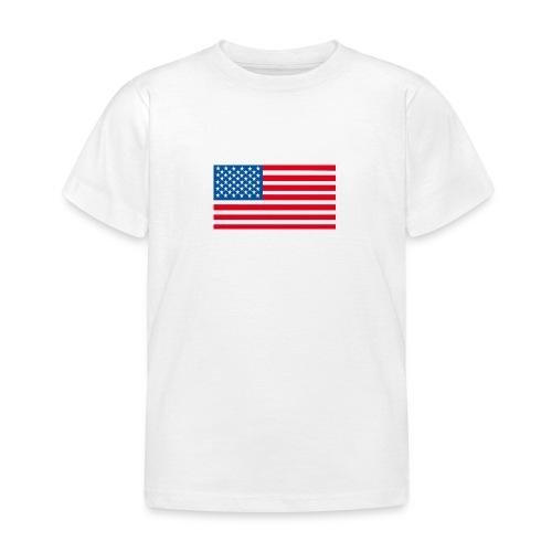 Verenigde Staten vlag jpg - Kinderen T-shirt
