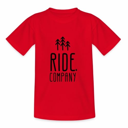 RIDE.company Logo - Kinder T-Shirt