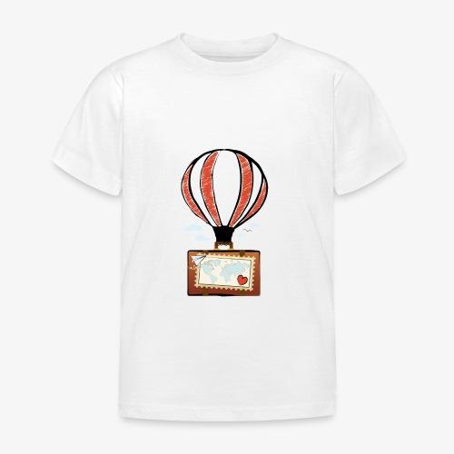 CUORE VIAGGIATORE Gadget per chi ama viaggiare - Maglietta per bambini