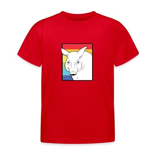 Tapir mit Regenbogen Farben - Kinder T-Shirt