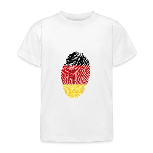 GERMANY FINGERPRINT - Kids' T-Shirt