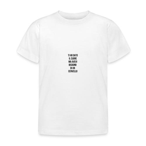 frasi fatte citazioni - Maglietta per bambini