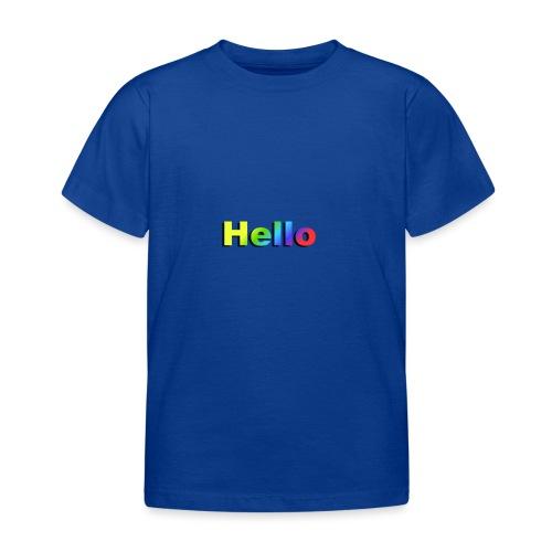 Hello - Koszulka dziecięca