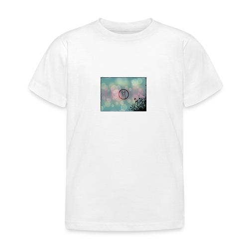 Llama in a circle - Kids' T-Shirt