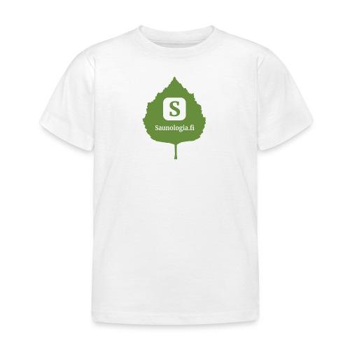Saunologia logo 2020 - Lasten t-paita