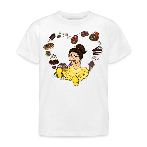 Schokoline und ihr süßer Traum - Kinder T-Shirt