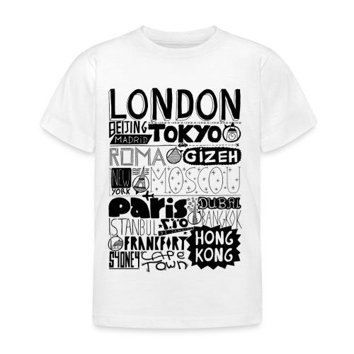 Villes du monde - T-shirt Enfant