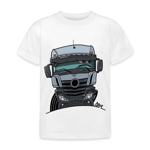 0807 M Truck grijs - Kinderen T-shirt