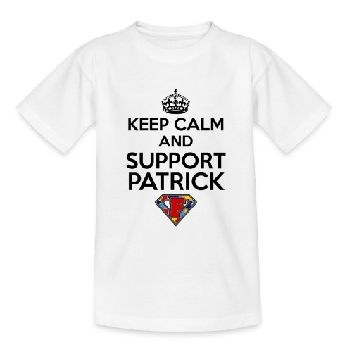 Keep Calm and Support Patrick - Kids' T-Shirt