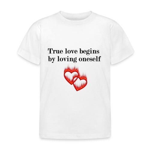 LOVE YOURSELF - Camiseta niño