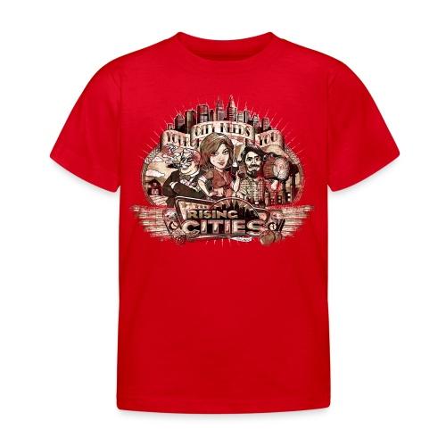 risingcities mb yourcityneedsyou distres - Kinder T-Shirt