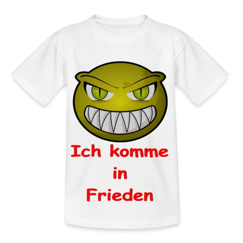 Alien frieden - Kinder T-Shirt