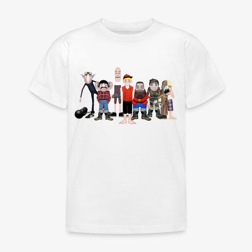 Askeladden og de gode hjelperne - T-skjorte for barn