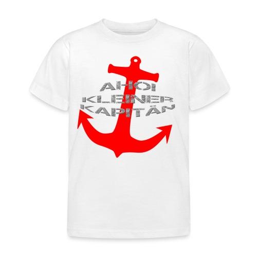 AHOI KLEINER KAPITÄN - in limitierter Auflage - Kinder T-Shirt