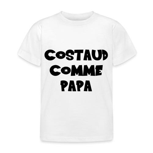 Body bébé garçon papa fun et rigolo - T-shirt Enfant
