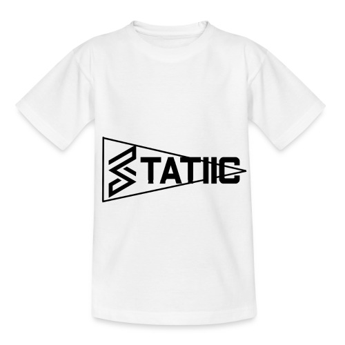statiic text png - Kids' T-Shirt