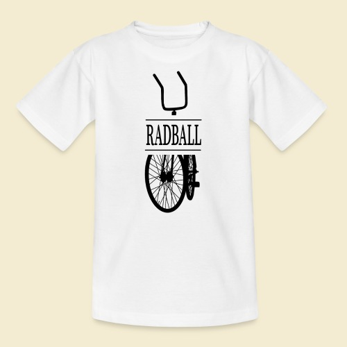 Radball | Retro Black - Kinder T-Shirt