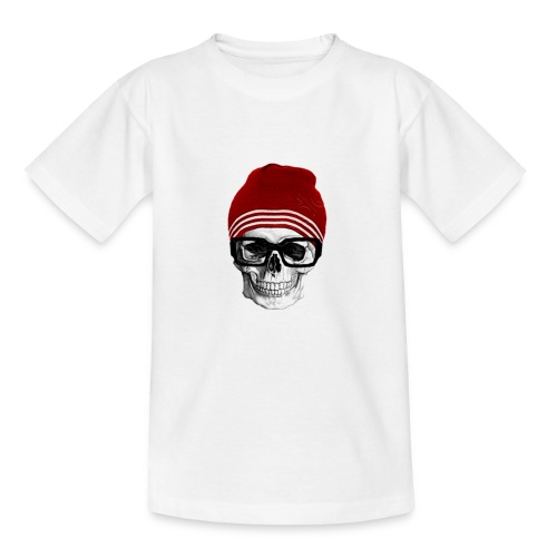 Tête de mort tendance - T-shirt Enfant