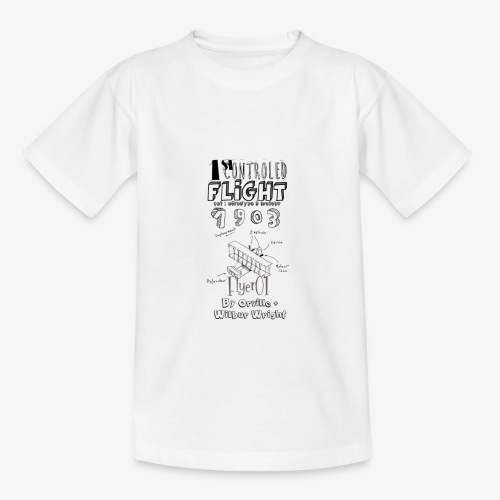 1stcontroled flight - T-shirt Enfant