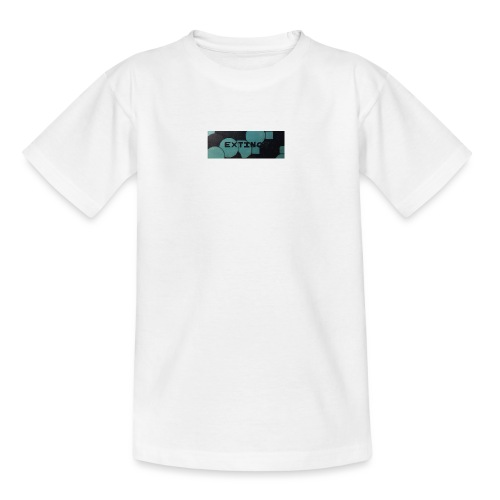 Extinct box logo - Kids' T-Shirt