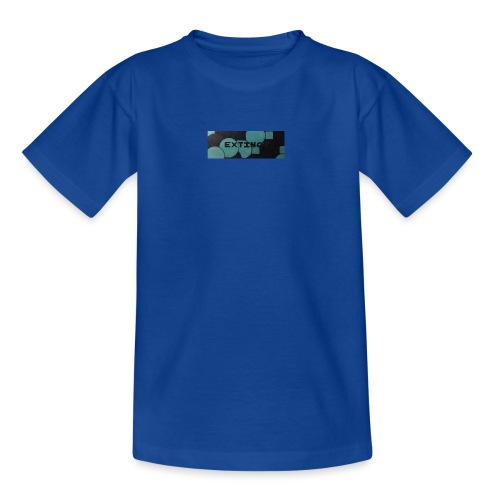 Extinct box logo - Kids' T-Shirt