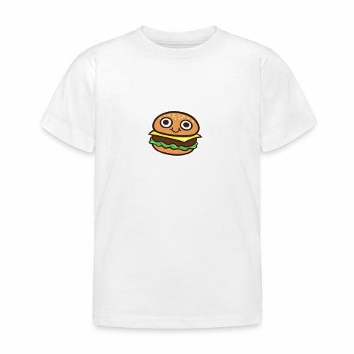 Burger Cartoon - Kinderen T-shirt