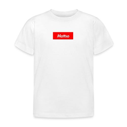 Mattso Merch to Flex - Kids' T-Shirt
