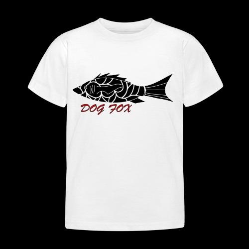 Dogfox Fisch - Kinder T-Shirt