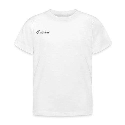 ceaseless - Kids' T-Shirt