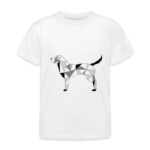 Hund illustriert - Kinder T-Shirt