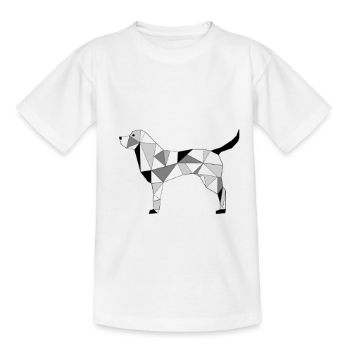 Hund illustriert - Kinder T-Shirt