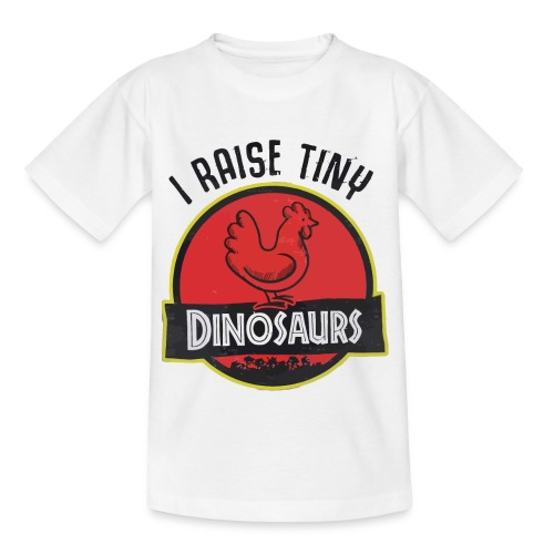 I raise tiny dinosaurs chicken - Kids' T-Shirt