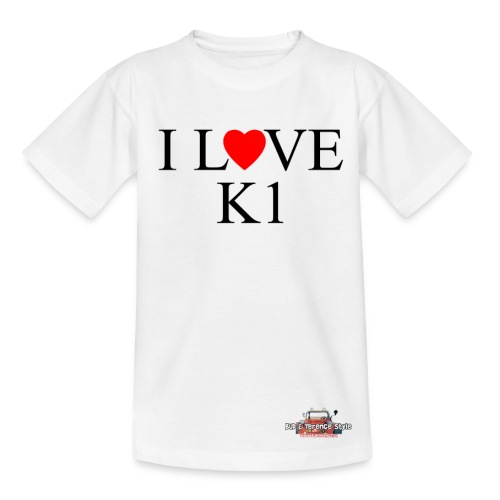 i love k1 nera - Kids' T-Shirt
