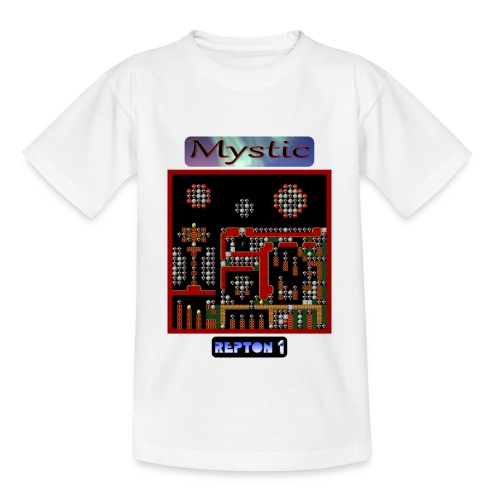 w-rep1-mystic1 - Kids' T-Shirt