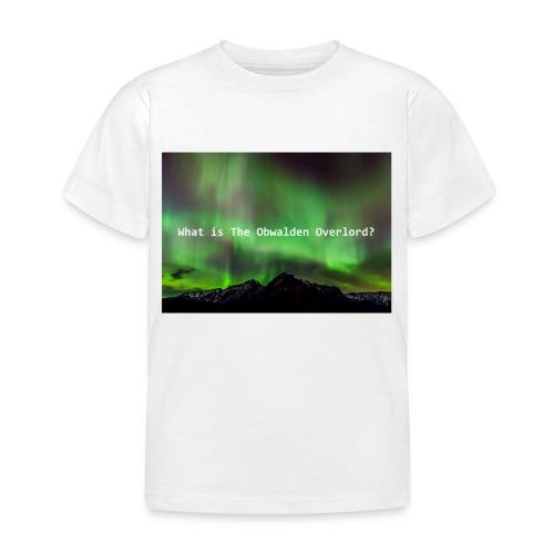 Obwalden Overlord - Kids' T-Shirt