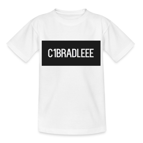 C1bradleee Text Logo - Kids' T-Shirt