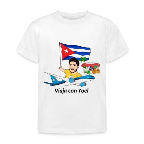 Cuba - Viaja con Yoel - Camiseta niño
