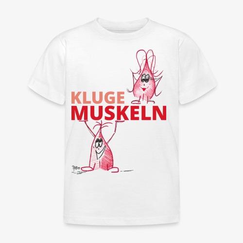 Kluge Muskeln - Kinder T-Shirt