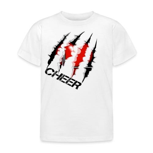 Kratzer mit herz - Kinder T-Shirt