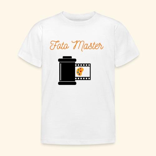 Foto Master 2nd - Børne-T-shirt