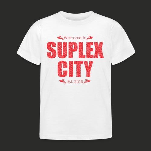 Suplex City Mens T-Shirt - Kids' T-Shirt