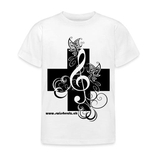 Swiss Beatz Logo non L - Kinder T-Shirt